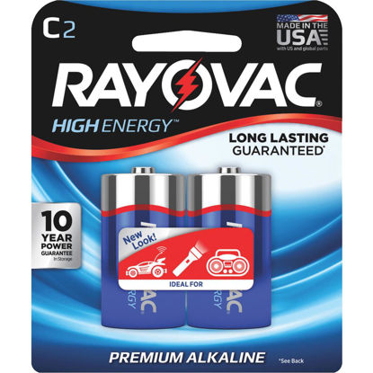 Picture of Rayovac High Energy C Alkaline Battery (2-Pack)