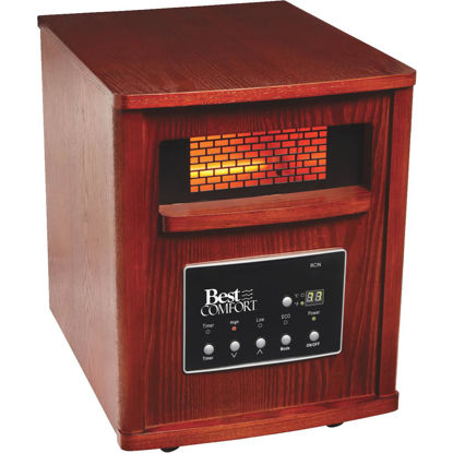 Picture of Best Comfort 1500-Watt 120-Volt Quartz Heater with Woodgrain Cabinet