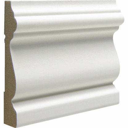 Picture of Cedar Creek 312 5/8 In. W. x 3 In. H. x 8 Ft. L. White MDF Victorian Casing Molding