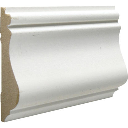 Picture of Cedar Creek 390 9/16 In. W. x 2-5/8 In. H. x 8 Ft. L. White MDF Colonial Chair Rail Molding