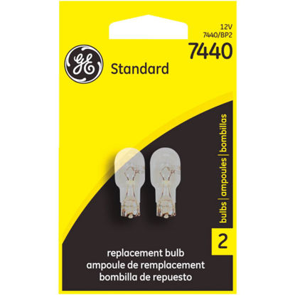Picture of GE 12V 7440 Miniature Incandescent Automotive Bulb (2-Pack)