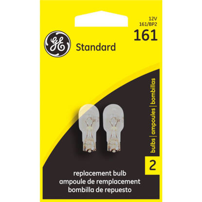 Picture of GE 12V 161 Miniature Incandescent Automotive Bulb (2-Pack)