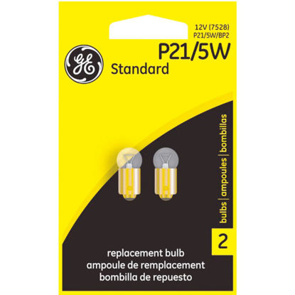 Picture of GE 12V P21/5W Miniature Incandescent Automotive Bulb (2-Pack)