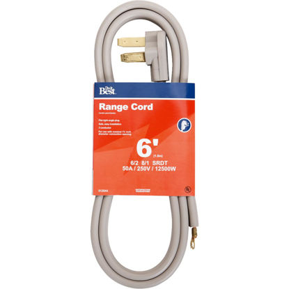 Picture of Do it Best 6 Ft. 6/2 + 8/1 Ga. 3-Conductor Range Cord