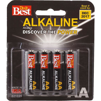 Picture of Do it Best AA Alkaline Battery (8-Pack)