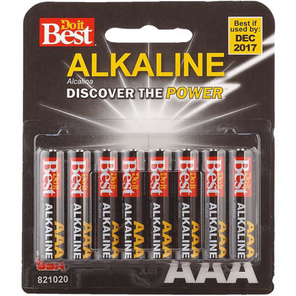 Picture of Do it Best AAA Alkaline Battery (8-Pack)
