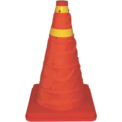 Picture of Bell 16 In. H Orange Collapsible Safety Cone