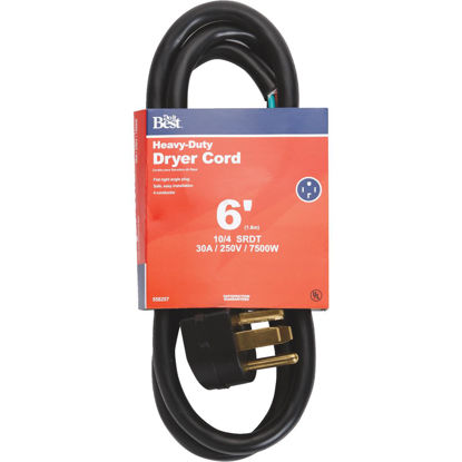 Picture of Do it Best 6 Ft. 10/4 30A Dryer Cord
