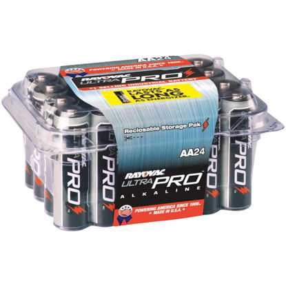 Picture of Rayovac UltraPro AA Alkaline Battery (24-Pack)