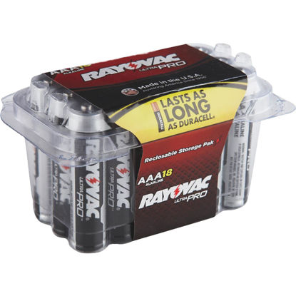 Picture of Rayovac UltraPro AAA Alkaline Battery (18-Pack)