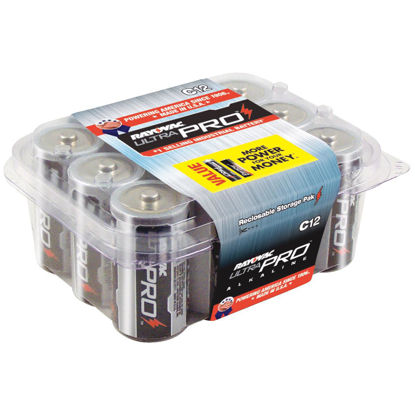 Picture of Rayovac UltraPro C Alkaline Battery (12-Pack)