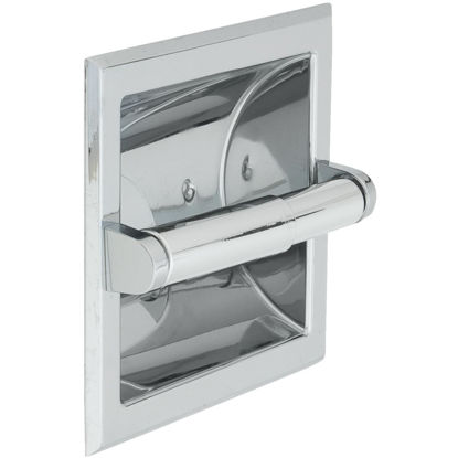 Picture of Home Impressions Vista Chrome Recessed Toilet Paper Holder