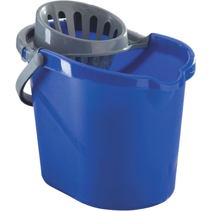 Picture of Quickie 15 Qt. Blue Mop Bucket With Wringer