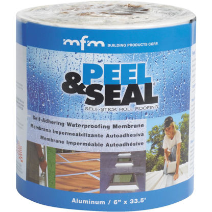 Picture of MFM Peel & Seal 6 In. X 33.5 Ft. Aluminum Roofing Membrane