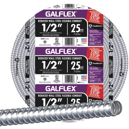 Picture of Southwire 1/2 In. x 25 Ft. RWS Flexible Flexible Metal Conduit