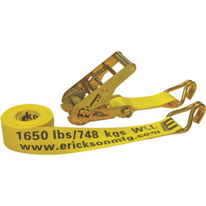 Picture of Erickson 2 In. x 15 Ft. 5000 Lb. Heavy-Duty Ratchet Strap