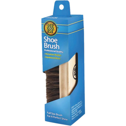 Picture of Shoe Gear Horsehair Wood Shoe Shine Brush