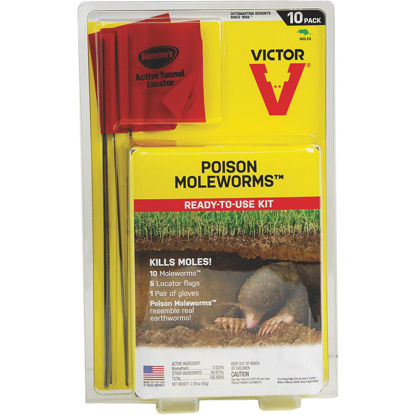 Picture of Victor Poison Moleworms Mole Killer (10-Pack)