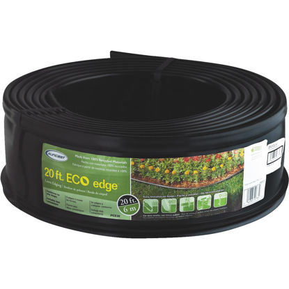 Picture of Suncast 5 In. H. x 20 Ft. L. Black Recycled Plastic Lawn Edging