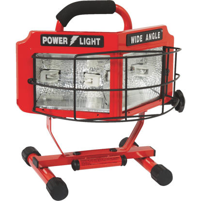 Picture of Designers Edge Power Light 8000 Lm. Halogen H-Stand Portable Work Light