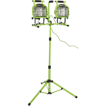Picture of Designers Edge Power Light 22,400 Lm. Halogen Twin Head Tripod Stand-Up Work Light