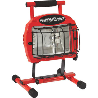 Picture of Designers Edge Power Light 9600 Lm. Halogen H-Stand Portable Work Light