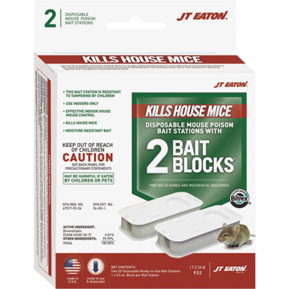 Picture of JT Eaton Disposable Mouse Bait Station (2-Pack)