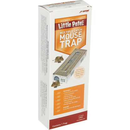 Picture of JT Eaton Little Pete Mechanical Mouse Trap with Clear Inspection Window (1-Pack)