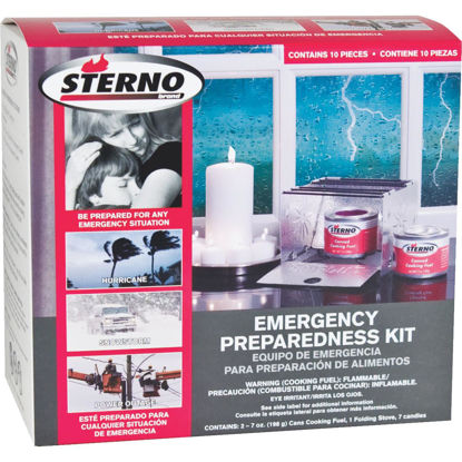 Picture of Sterno Emergency Preparedness Kit (10-Piece)