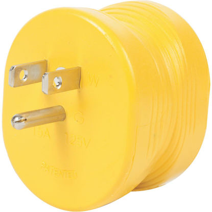 Picture of Camco Power Grip 15A Male to 30A Female RV Plug Adapter