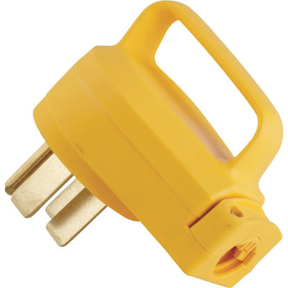 Picture of Camco PowerGrip 50A Male Replacement RV Plug