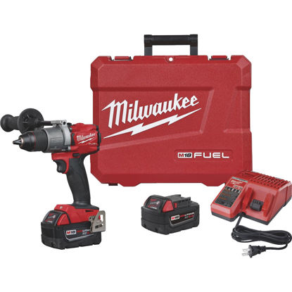 Picture of Milwaukee M18 FUEL 18 Volt XC Lithium-Ion Brushless 1/2 In. Cordless Drill Kit