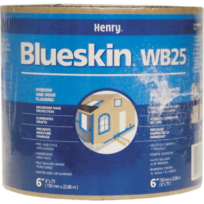 Picture of Henry Blueskin WB25 6 In. X 75 Ft. Window Wrap & Flashing Tape