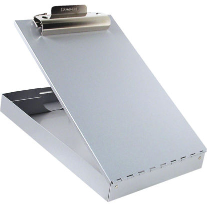 Picture of Saunders Redi-Rite Letter Size Recycled Aluminum 1 In. Storage Clipboard