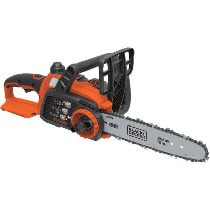 Picture of Black & Decker 10 In. 20V MAX Lithium Ion Cordless Chainsaw