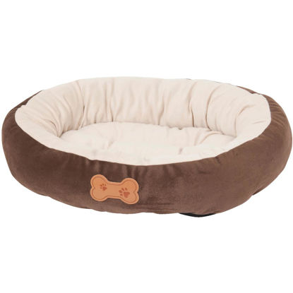 Picture of Petmate Aspen Pet 20 In. W. x 16 In. L. Recycled Polyester Fiber Oval Dog Bed