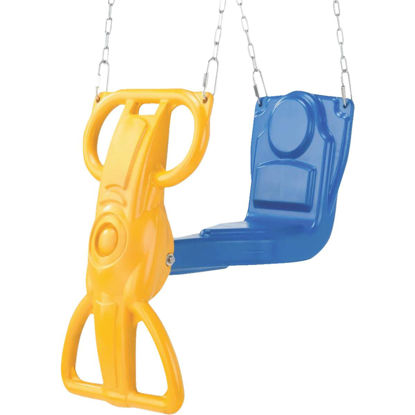 Picture of Swing N Slide Wind Rider Blue & Yellow Glider Swing