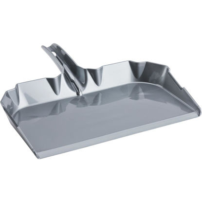 Picture of Libman High Power 18.13 In. Gray Poly Industrial Grade Dust Pan