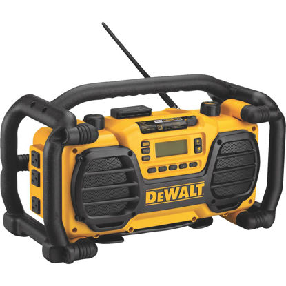 Picture of DeWalt 7.2-Volt to 18-Volt Nickel Cadmium/Lithium-Ion Cordless Jobsite Radio and Battery Charger (California Compliant)