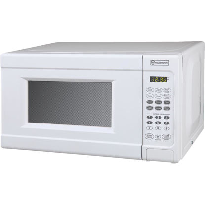 Picture of Perfect Aire 0.7 Cu. Ft. White Countertop Microwave