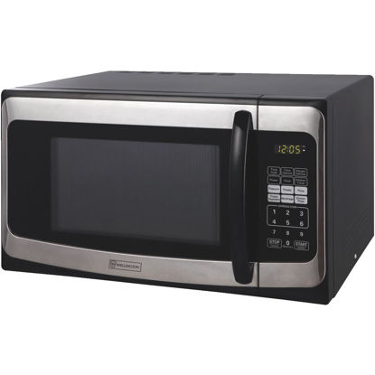 Picture of Perfect Aire 1.1 Cu. Ft. Black Countertop Microwave