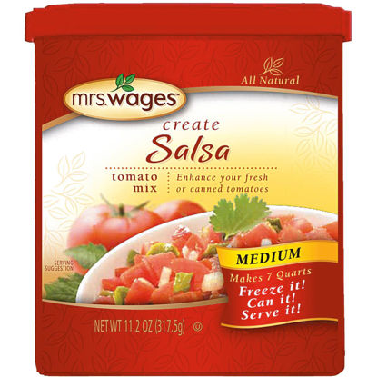 Picture of Mrs. Wages 11.2 Oz. Salsa Tomato Mix