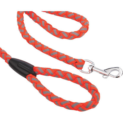 Picture of Westminster Pet Ruffin' it Reflective 6 Ft. Safety Orange Dog Leash