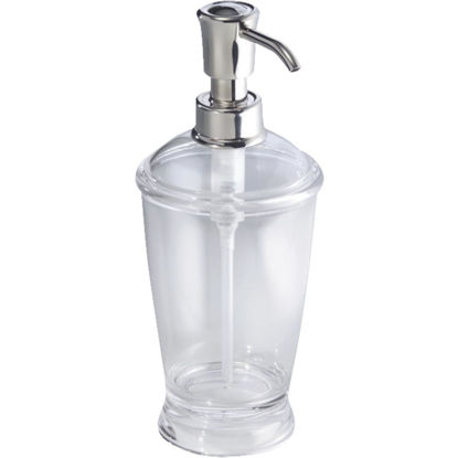 Picture of InterDesign Franklin 12 Oz. Clear Soap Dispenser