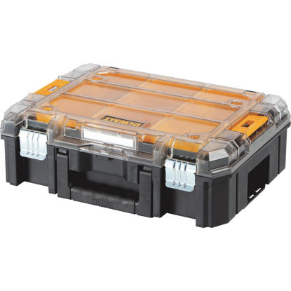 Picture of Dewalt TSTAK 13 In. W x 5.75 In. H x 17.25 In. L Small Parts Organizer with 9 Bins