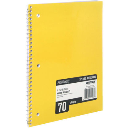 Picture of ProMark 8-1/4 In. W. x 10-1/2 In. H. 70-Sheet Side-Spiral Notebook