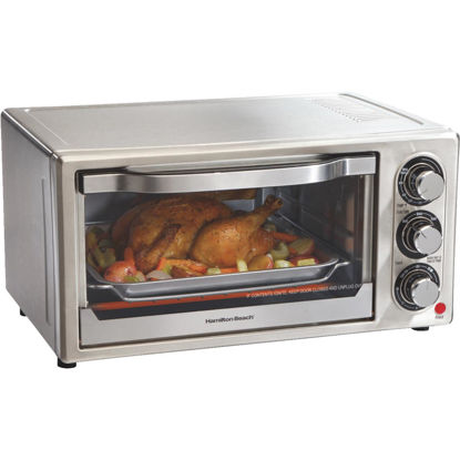 Picture of Hamilton Beach 6-Slice 3-Setting Stainless Steel Toaster Oven