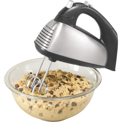 Picture of Hamilton Beach 6-Speed Stainless Steel Hand Mixer