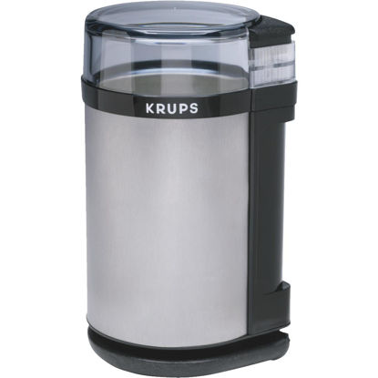 Picture of Krups Electric Brushed Stainless Steel Coffee and Spice Grinder