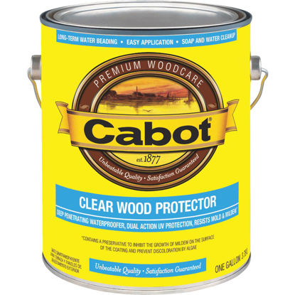 Picture of Cabot Clear Water-Based VOC Wood Protector, 1 Gal.
